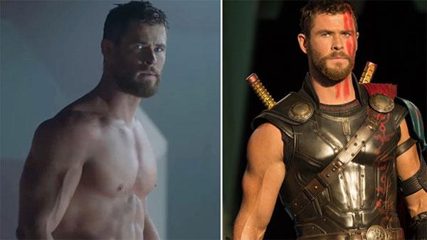 Así es el entrenamiento de Chris Hemsworth para tener el cuerpo de Thor