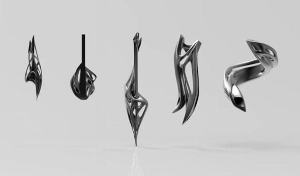 Exposición de instrumentos musicales impresos en 3D