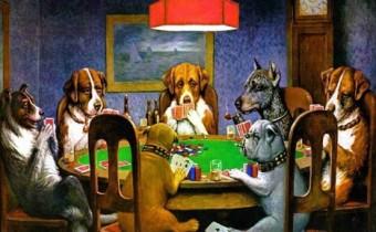 perros poker 1