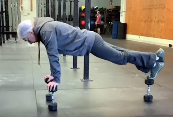 CrossFit de 72 años