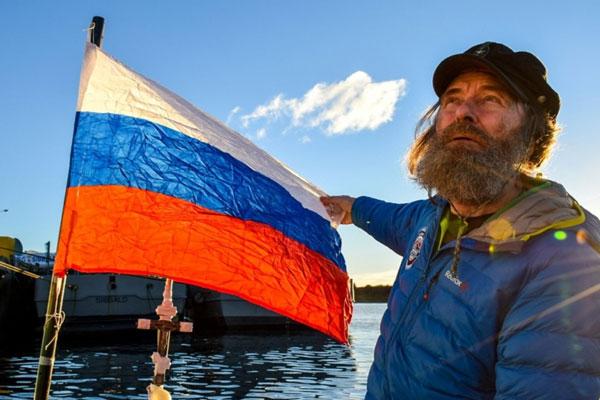 Aventurero Ruso cruza el Océano Pacifico y llega a Chile después de 154 días en el mar