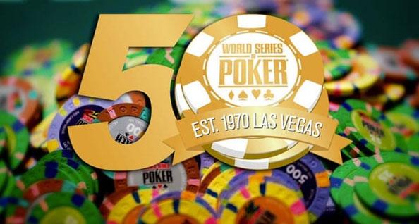 El 50 aniversario de la WSOP atrae a un récord de 28,371 jugadores