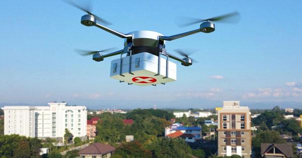 Hospitales públicos franceses usarán drones para enviar medicamentos