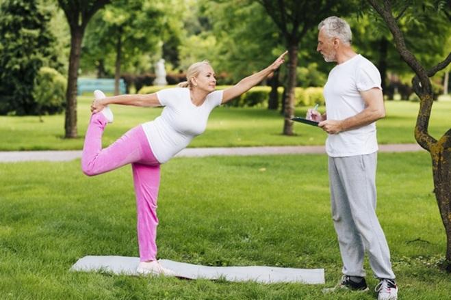 aumento de ejercicio físico a partir de los 60 años reduce el riesgo cardiovascular