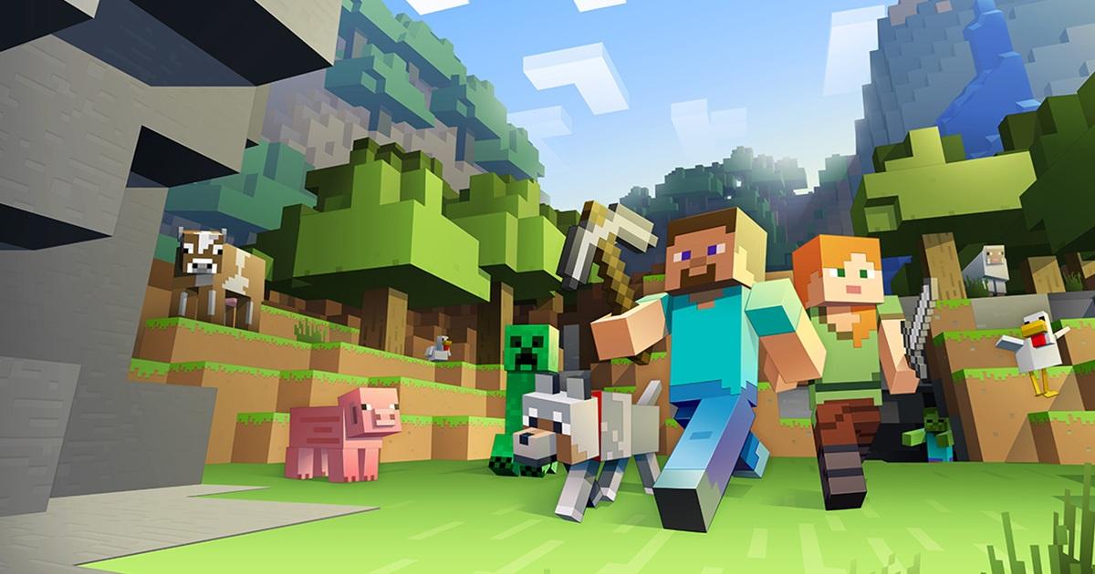 Minecraft en YouTube