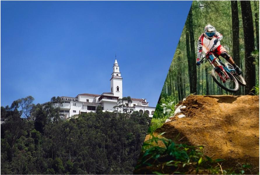 Monserrate downhill